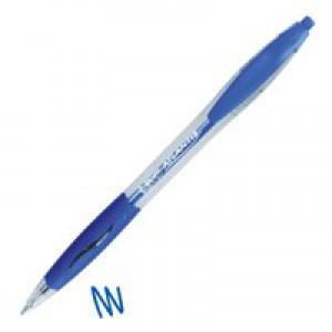 Bic Atlantis Retractable Ball Point Pen Blue 1199013670