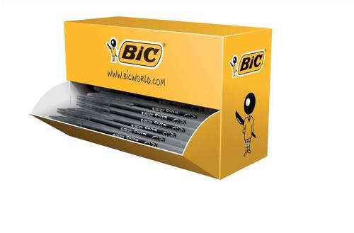 Bic Cristal V2 Rollerball Pen Gel Ink 0.7mm Tip 0.5mm Line Black Ref 896036 [Pack 35 plus 5 FREE]