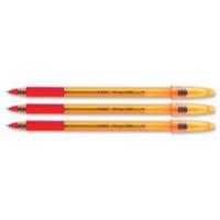 Image for Bic Orange Grip Ballpoint Pen Red 820543