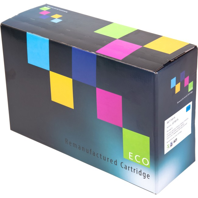 ECO HP CE390A Remanufactured Black Toner