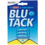Bostik Blu-Tack Handy Pack 60gm 801103 Single