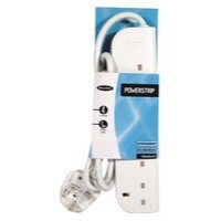 Belkin 4-Way Economy Surge Protector 1 Metre Cable F9E400UK1M