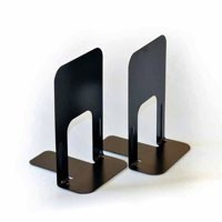 Block Steelmaster Large Deluxe Bookends Black One Pair MMF241009104