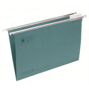 Suspension File Foolscap Green [Bx 50]