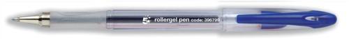 Roller Gel Pen 0.5mm Line Blue [Pack 12]