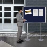 Bi-Office Ext Post-Mounted Display Case 12xA4 Code OMB370207760