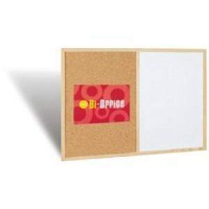 Bi-Office Cork/Write On Wipe Off Board 900x600mm MX07001010
