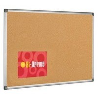 Bi-Office Cork Board 1200x900mm Aluminium Frame CA051170