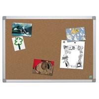 Bi-Office Earth-it Cork Board Aluminium Frame 1200x900mm Code CA051790