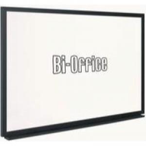 Bi-Office Whiteboard 600x450mm Black Frame MB0400169