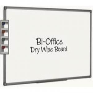 Bi-Office Whiteboard 900x600mm Aluminium Finish MB0712186