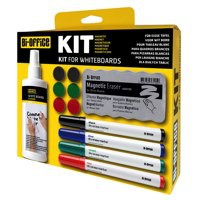 Bi Office Magnetic Dry Erase Starter Kit Code KT1010