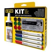 Bi Office Magnetic Dry Erase Starter Kit