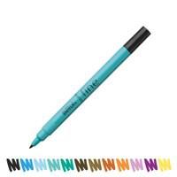 Berol Colour Fine Pen with Washable Ink 0.6mm Line Black Ref S0376300 [Wallet 12]