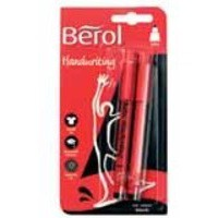 Berol Handwriting Pen Card of 2 Black HPMTWB01 S0672930