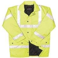 Proforce C3 EN471 Class 3 High Visibility Site Jacket Medium Yellow Code HJ03YLM