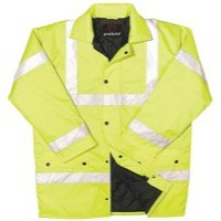 Proforce C3 EN471 Class 3 High Visibility Site Jacket Large Yellow Code HJ03YLL