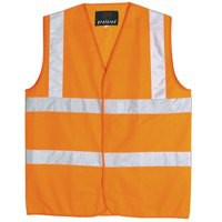 Proforce High Visibility Vest Class 2 Medium Orange HV05OR-M