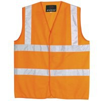 *Proforce High Visibility Vest Class 2 Large Orange HV05OR-L V-EX10 (136722) SHVJ