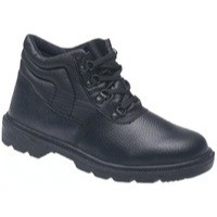 Proforce Toesavers S1P Safety Chukka Boot Mid-Sole Size 10 Black 2415-10