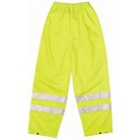 Proforce High Visibility Trousers Class 1 Medium Yellow HV03YL-M