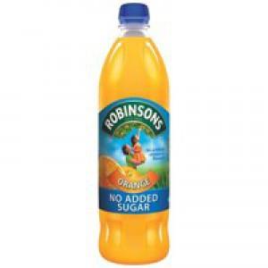Robinsons No Added Sugar Fruit Squash Orange 1 Litre