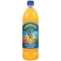 Robinsons No Added Sugar Orange Squash 1 Litre Pack of 12