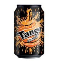 Tango Orange 330ml Can Pack of 24 3391
