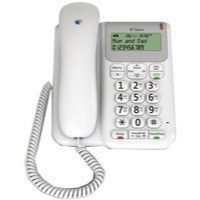 BT Decor 2200 Corded Phone White 061127