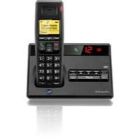 BT Diverse 7150 Plus DECT Telephone Single Black 44709