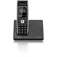 BT Diverse 7410 Plus DECT Telephone Single Black 44711