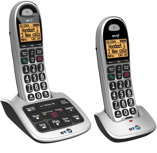 Bt 4500 big button DECT twin