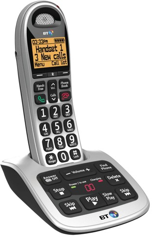 Bt 4500 big button DECT single