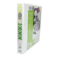 Image for BANTEX A4 25MM 2D RING PRES BINDER WHITE