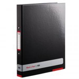 Black n Red By Elba Ring Binder Each 400051510