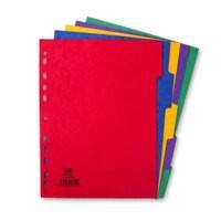Elba Divider A4 5-Part Pressboard 400007512