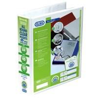 Elba Panorama Presentation Binder A4 4D-Ring 50mm White 400001309