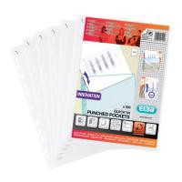 Elba Quick Punched Pocket Clear 400012939