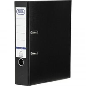 Elba Board Lever Arch File A4 Black B1045709