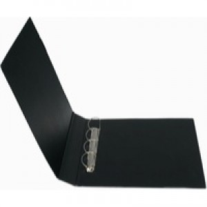 Bantex 4D-Ring Binder PVC A3 30mm Upright Black 100080864