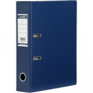 Bantex Lever Arch File PVC A4 Upright 70mm Blue 100080898