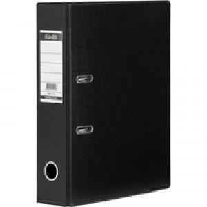 Bantex Lever Arch File PVC A4 Upright 70mm Black 100080904