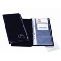 Image for Bantex Business Card Album Black Capacity 96 3550100