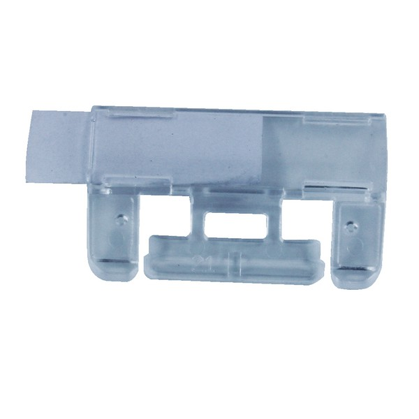 Elba Merlin Tabs Plastic For Suspension Files Clear Pack 50 Code 100330216