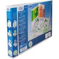 Elba Polyvision Maxi 4D-Ring Presentation Binder A3 30mm Landscape Clear 100080803