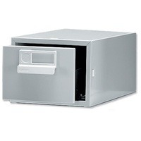 Image for Bisley Grey Card Index Cabinet 6x4in SGL