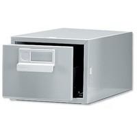 Bisley Card Index Cabinet 6x4 inches Single Grey FCB14