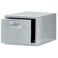 Bisley Card Index Cabinet 8x5 inches Single Grey FCB15