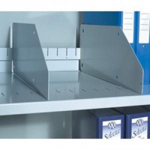 Slotted Steel Shelf Black BSS