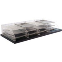 Bisley Pigeon Hole Shelf Unit Grey BPH